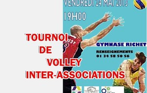 24 Mai 2013 TOURNOI DE VOLLEY INTER ASSOCIATIONS